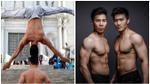 2 nghệ sĩ xiếc Việt Nam phá kỷ lục thế giới về giữ thăng bằng trên đầu và đi hết 90 bậc thang