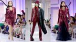 Lan Khuê 'biến hình' thành nữ sát thủ trong thiết kế nhung của Trương Thanh Long