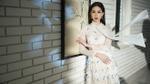 Hoa hậu Đặng Thu Thảo tinh khôi như mùa xuân trong thiết kế của Lê Thanh Hòa