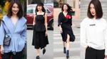 Quỳnh Chi tung hình street style xinh hút mắt trước giờ phát sóng The Remix 2017