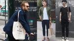Xu hướng túi tote trở lại 'càn quét' street style nam giới
