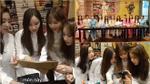 T-ara xinh đẹp trong tà áo dài, hóa 'fan cuồng'… ẩm thực Việt