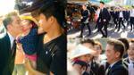 Quay MV có mặt Hà Hồ và Cường Đô la, Mr. Đàm được fan nhí 'nựng' giữa chợ