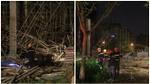 Kinh hãi với hiện trường vụ sập giàn giáo tòa nhà ở Đà Nẵng