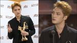 Vỡ òa khi Jaejoong thắng giải 'Nghệ sĩ được yêu thích nhất Châu Á' tại Grammy Hàn 2017