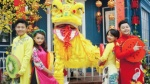 Mai Chí Công cùng dàn sao nhí Vpop mặc áo dài quay MV Tết cổ truyền