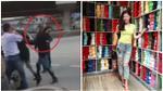 Nữ phượt thủ hung dữ tấn công người lái taxi bằng gạch
