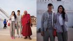 Thủy Tiên - Công Vinh giản dị hành hương về với đất Phật