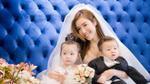 Không cần chú rể, cô dâu Elly Trần vẫn đầy lộng lẫy bên hai con nhân ngày 8/3