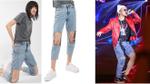 Đây là chiếc quần gây tranh cãi không kém so với kiểu quần 'ống cao ống thấp' của Sơn Tùng