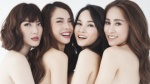 Sau 10 năm, Yến Trang và Mây Trắng 'tái xuất' với bộ ảnh nude táo bạo