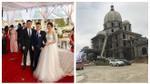 Đám cưới 'khủng' tổ chức bên lâu đài của đại gia 'có tiếng' ở Ninh Bình