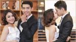Thái Trinh- Quang Đăng hôn nhau thắm thiết trong buổi ra mắt MV mới