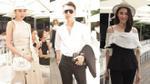 Thanh Hằng, Hoàng Ku diện đồ hiệu Dior, xuất hiện tại show Lâm Gia Khang