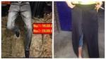 Đặt mua quần jean sành điệu, nam thanh niên 'câm nín' khi cầm hàng trên tay