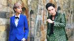 Key (MONSTAR) 'rủ rê' Phí Phương Anh diện suit đầy mạnh mẽ trong ngày ghi hình The Face Việt Nam