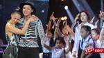 Thu Minh tình cảm bên Noo Phước Thịnh, Hiền Hồ mang dàn vũ công nhí lên sân khấu tổng duyệt Chung kết The Voice