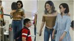 Lý Nhã Kỳ hạnh phúc, ôm chặt Xa Thi Mạn tại sân bay