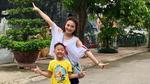Bảo Thanh vui vẻ đi chơi cùng con trai giữa tâm bão 'thả thính' Việt Anh