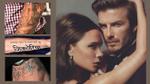 David Beckham và những hình xăm gắn liền với hình ảnh vợ con