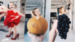Cô bé 3 tuổi trở thành 'ngôi sao Instagram' nhờ 'diện' váy bằng thức ăn, hoa lá, rau củ