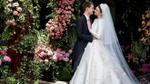 Lộ diện váy cưới tuyệt đẹp của Miranda Kerr khi cô sánh vai bên người sáng lập Snapchat