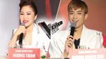 Soobin Hoàng Sơn, Hương Tràm ngẫu hứng hát dân ca 'ngọt như mía lùi' tại họp báo The Voice Kids 2017