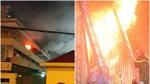 Căn nhà 4 tầng ở phố Vọng và Bệnh viện Bạch Mai cùng cháy lớn trong đêm, 2 nạn nhân tử vong