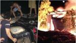 Thực hư vụ dân làng đốt chiếc xe tiền tỷ vì nghi thôi miên bắt cóc ở Hải Dương