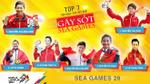 """Top 7 VĐV Việt Nam """"gây sốt"""" tại SEA Games 29"""
