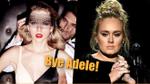 Adele một lần nữa 'ngả mũ' chào thua khi Taylor Swift tiếp tục lập kỉ lục mới