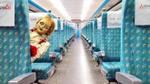 Công ty xe lửa Đài Loan khiếu nại khi búp bê Annabelle xuất hiện trên tàu hỏa