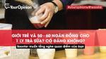 Tiêu điểm trong tuần: 50-60 ngàn đồng cho 1 ly trà sữa hay để… mua sách?