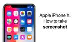 Làm thế nào để chụp ảnh màn hình khi iPhone X không còn nút Home?