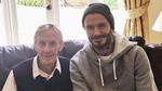 Beckham và đồng đội cũ ghé thăm cha đẻ của 'thế hệ vàng 92 Man Utd'