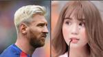 Ngọc Trinh, Messi và câu thách thức kinh điển: 'Đừng nhìn, yêu đấy'
