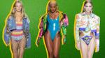 Bodysuit khoét sâu 'lấn sân' làng mốt từ sàn diễn New York Fashion Week đến tận tuần lễ thời trang Milan