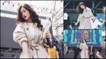 Đông Nhi trang điểm nhẹ vẫn nổi bật trên sân khấu tổng duyệt Asia Song Festival