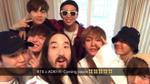 Sau The Chainsmokers, BTS 'thừa thắng' xông lên cùng Steve Aoki?