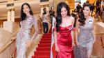 Clip: Hoàng Thùy - Mỹ Duyên - Chúng Huyền Thanh cùng dàn người đẹp HHHV Việt Nam 2017 tự tin catwalk trong ngày ra mắt truyền thông