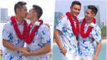 HOT: Hồ Vĩnh Khoa khóa môi, trao nhẫn cho bạn trai siêu mẫu trong đám cưới tại Mỹ