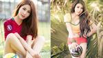 Diễm My 9x, Elly Trần và những hot girl nóng bỏng trong trang phục bóng đá