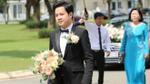 Chú rể Trung Tín bảnh bao, lên đường sang nhà đón hoa hậu Đặng Thu Thảo về dinh