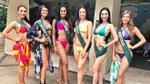 Á hậu Hà Thu khoe đường cong nuột nà trong trang phục bikini tại Miss Earth 2017
