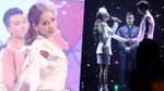 Chi Pu hát live rõ mồn một trên sân khấu đám cưới cùng trai đẹp