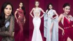 Mặc lại váy của Hoàng Thùy, Huyền My, loạt thí sinh Hoa hậu Đại dương bị 'dìm hàng' không thương tiếc