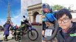 Chàng trai Tiền Giang phượt 'chất đừng hỏi': Lái xe máy từ Việt Nam đến Pháp, qua 23 quốc gia