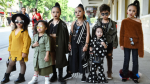 Dàn mẫu nhí lên đồ, tạo dáng 'cực ngầu' chiếm sóng 'The Best Street Style' tại Hà Nội