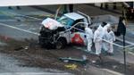 Đâm xe khủng bố táo tợn giữa New York: Video hiếm hoi quay cảnh nghi can gây án