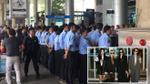 Bảo vệ xuất hiện dày đặc tại sân bay Tân Sơn Nhất trước giờ T-ara hạ cánh